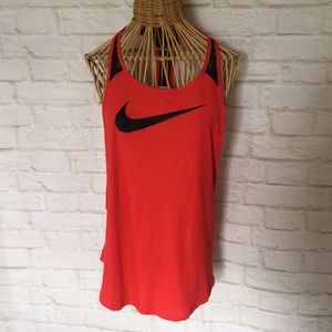 NIKE tank with mesh back size M